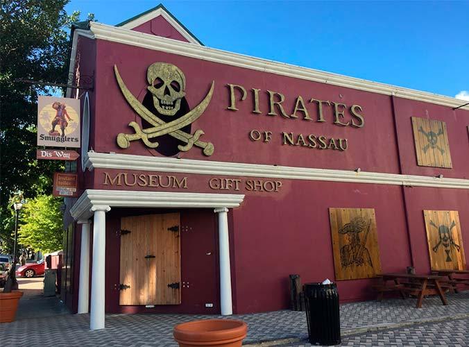 Museu dos Piratas em Nassau. Foto Meu Mundo