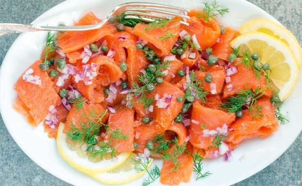 Gravlax - Prato típico de salmão da Islândia