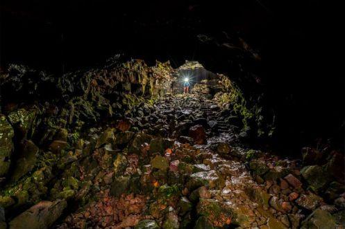 Islândia - Raufarhólshellir (túnel de lava)