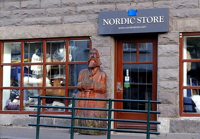 Nordic Store, centro de Reykjavik
