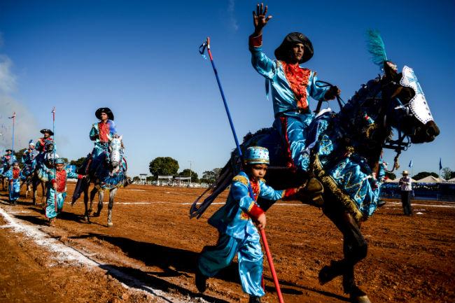 Cavalhada em Poconé - Foo Governo de Mato Grosso