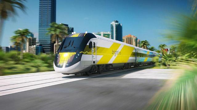 Em Palm Beachc, uma das opções para quem quer conhecer a animada vida noturna de Miami é ir até a Estação Miami Central e embarcar no trem de alta velocidade, o Brightline Train. Foto Forbes - DiscoverThe Palm Beaches