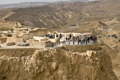 Parque Nacional de Massada em Israel