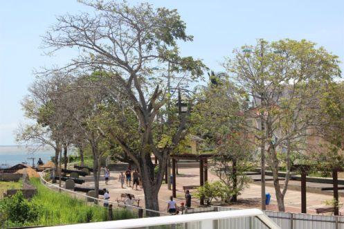 Praça Mirante do Tapajós recém-batizada como Fortaleza do Tapajós