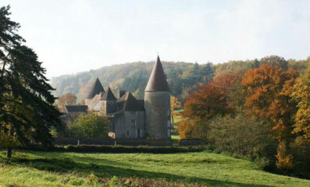 Borgonha Castelo de Couches
