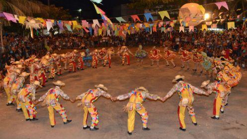 Quadrilha é uma das danças mais populares do período Foto Adriano Magalhães - Comus PMB