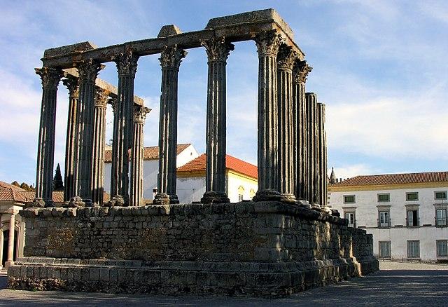 Templo romano em Évora, Alentejo,Portugal - Wikipedia
