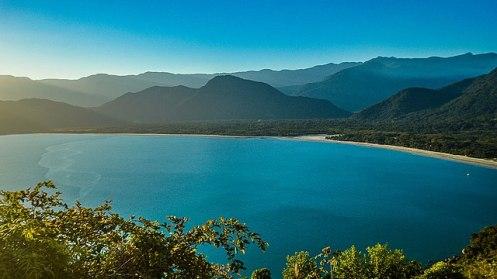 Vista da Serra do Mar em Ubatuba - Foto Deyves Martins
