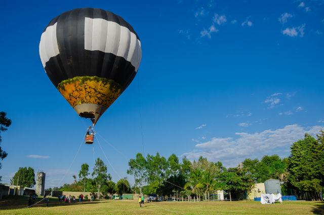 Voo de Balão no Brotas Eco Resort - Foto Divulgação