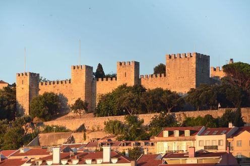Castelo de São Jorge em Lisboa Foto Lrocha Wikimedia