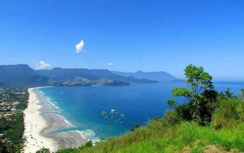 Mirante na Praia de Maresias - Foto Guia do Turismo Brasil Abre