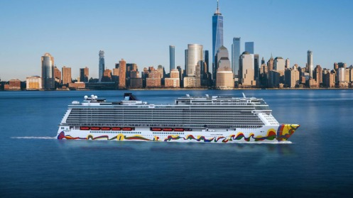Norwegian Cruise Encore, inaugurado em 2019 Foto Divulgacao